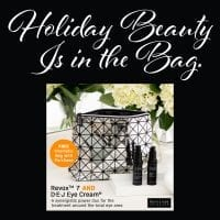 Holiday Beauty Is in the Bag.
